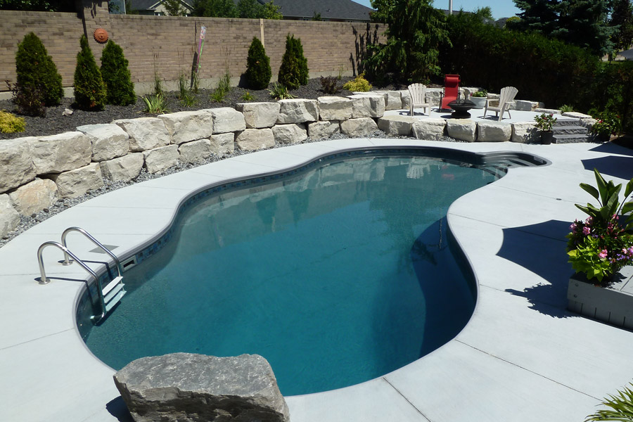 The Priors Inground Pool Showcase Pioneer Family Pools
