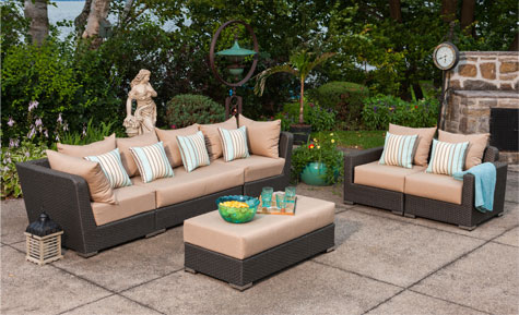 BERMUDA 6 PC SECTIONAL