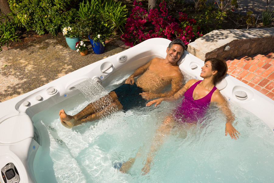2016 Caldera Utopia Cantabria Hot Tub - Pioneer Family Pools - Gallery