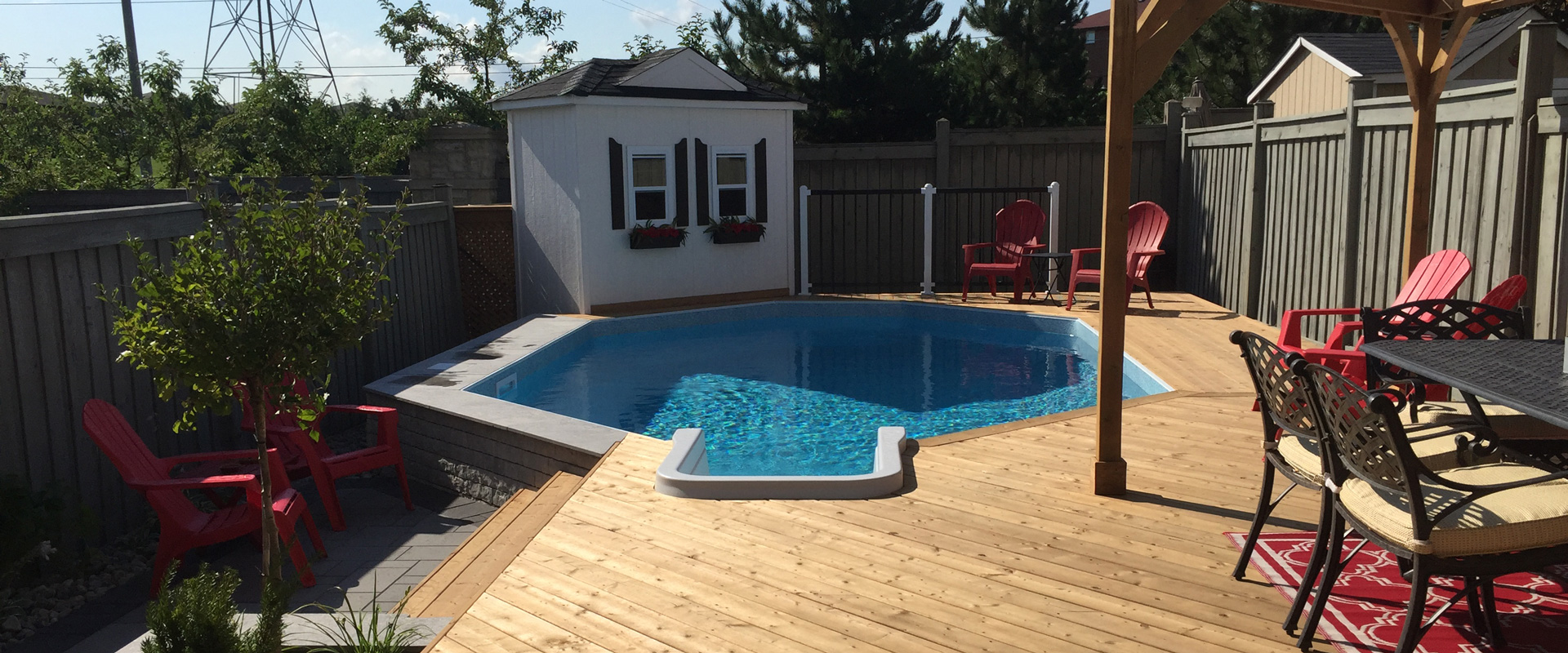 The Russells Onground Pool Showcase Pioneer Family Pools