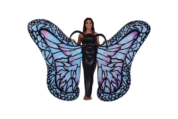 inflatable butterfly pool float