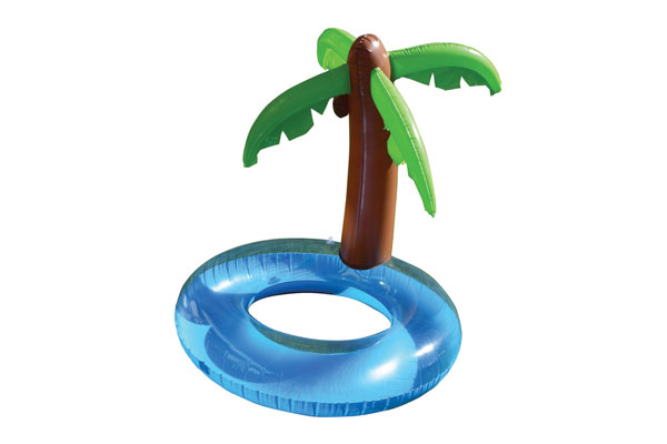 inflatable giant island pool float