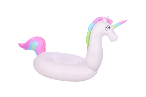 inflatable giant rainbow unicorn float