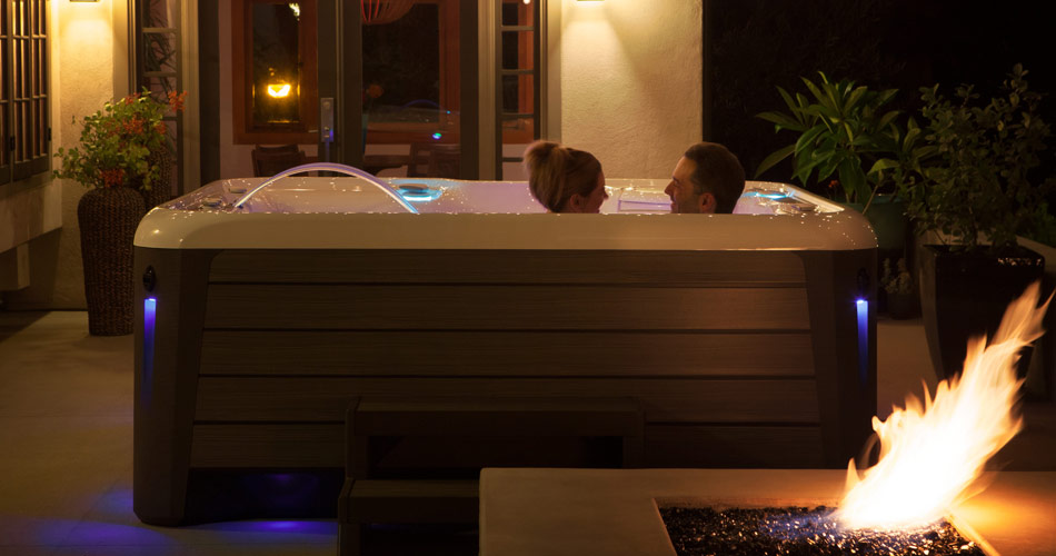 Aria NXT Hot Tub by Hot Spring Spas - Pioneer Family Pools - Gallery