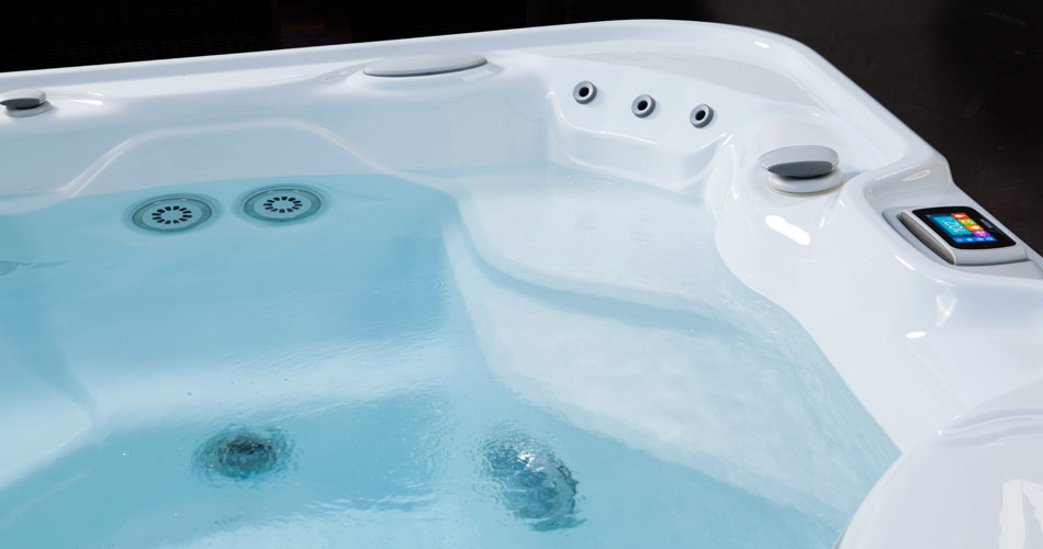 Vanguard NXT Hot Tub from HotSpring Spas - Pioneer Family Pools - Gallery