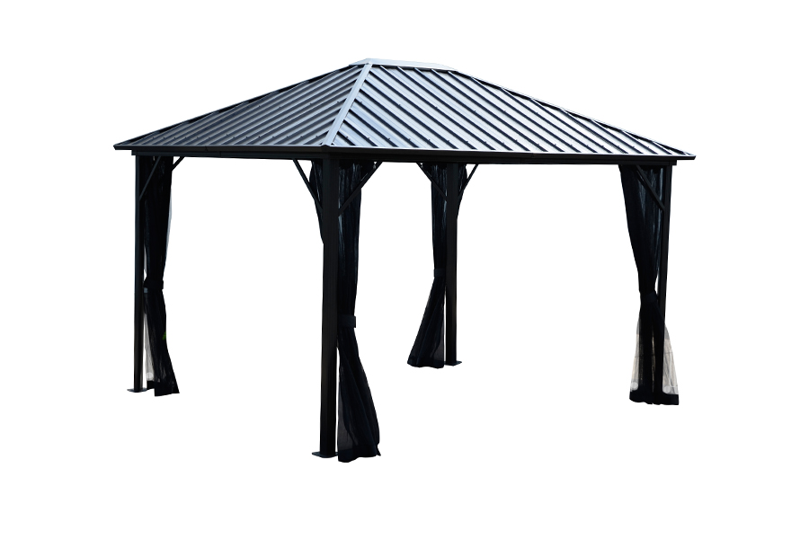 Brunello 10'x12′ Hard Top Gazebo