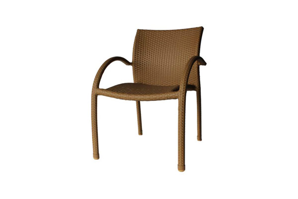 Stackable Arm Chair Natural