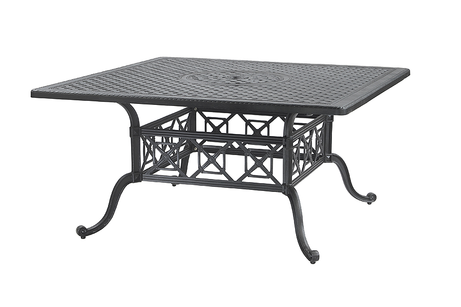 "60"" Square Outdoor Dining Table"