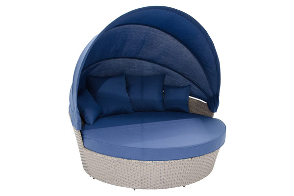 Blue Moon Bed with Canopy