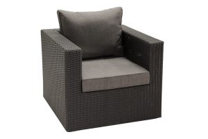 Jenna club chair resin wicker