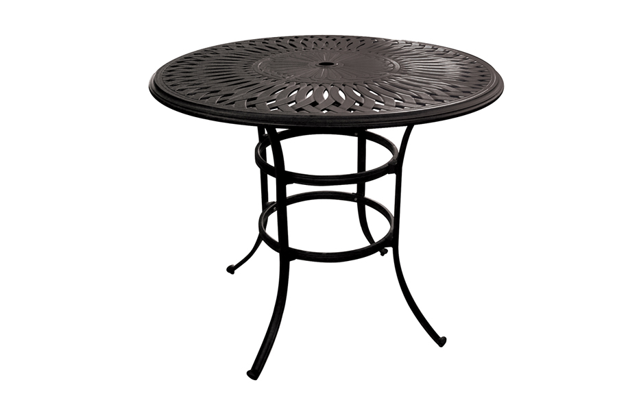 "Outdoor 48"" Round High Bar Table"