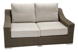 Resin Wicker Outdoor Loveseat