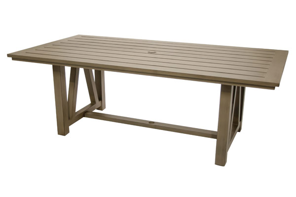 "42""x84"" Rectangle Outdoor Dining Table"