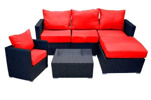 Milan Red Sectional