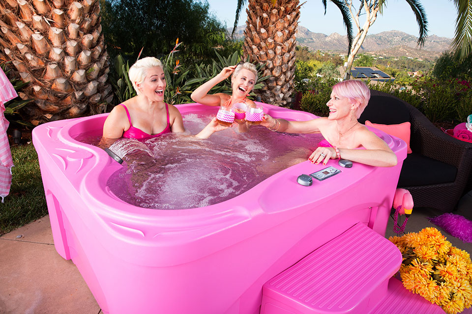 Fantasy Spa Plug N Play Drift 4 Person Hot Tub - Gallery