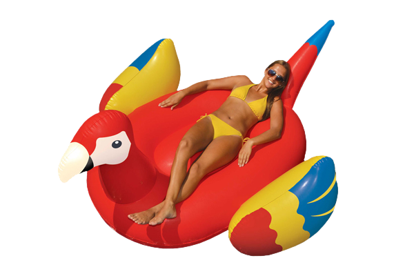 Giant Parrot Ride-On Float
