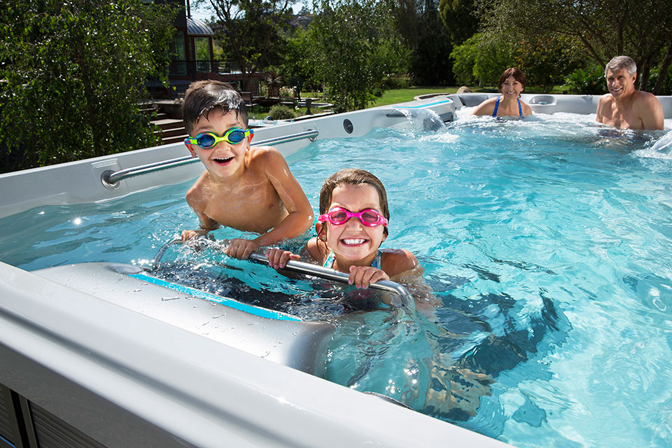 E700 Endless Pool Fitness System - Pioneer Family Pools - Gallery