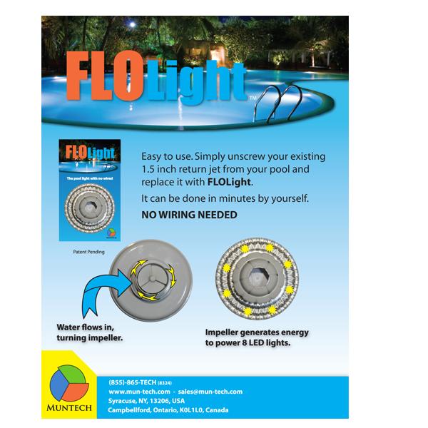 Flolight Wireless Pool Light