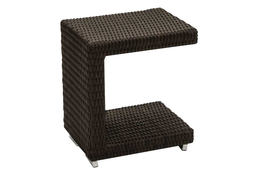Brown Fidji 12″ x 14″ End Table