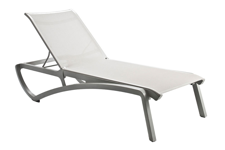Sunset Chaise Lounge Platinum