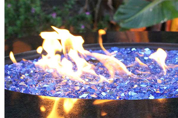 Features+. Tempered Fire Glass Crystals ... - Fire Pit Glass Crystals-Fire Pit Accessory- Pioneer Family Pools