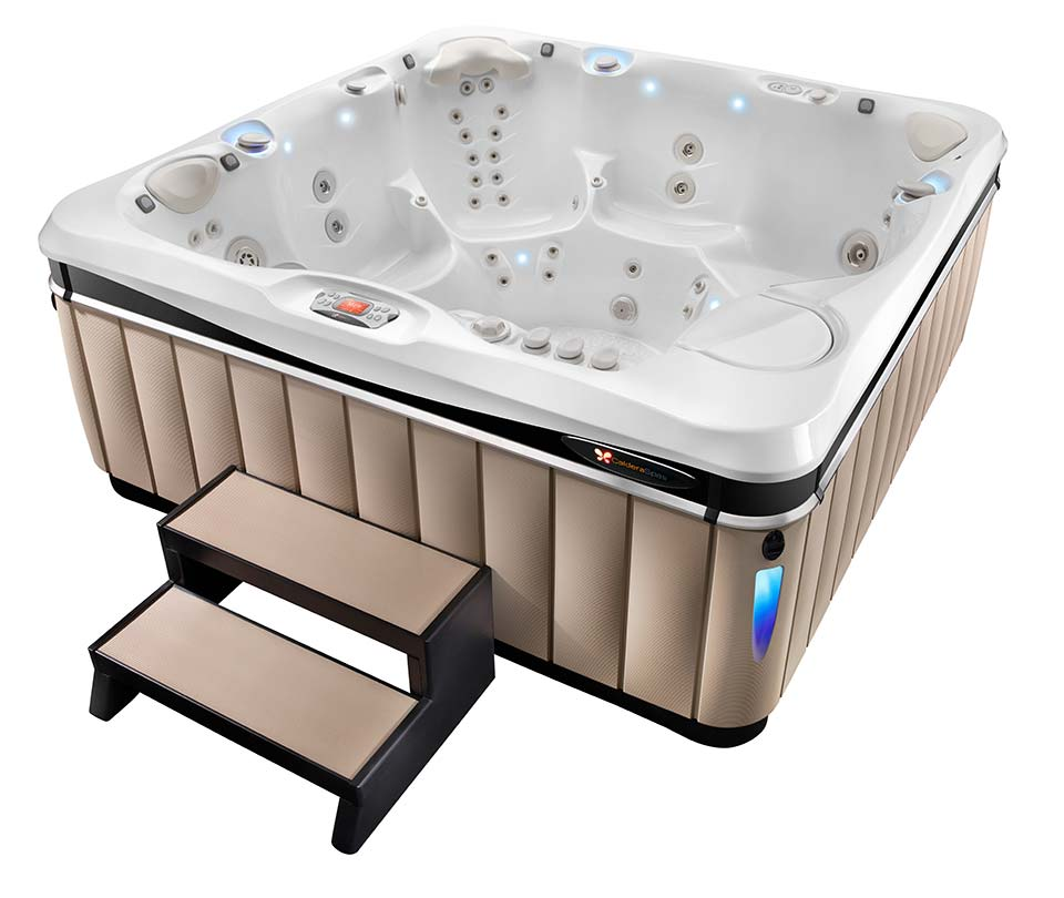 2016 Caldera Utopia Geneva Hot Tub - Pioneer Family Pools - Gallery