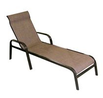 Adjustable Chaise Lounge Bronze