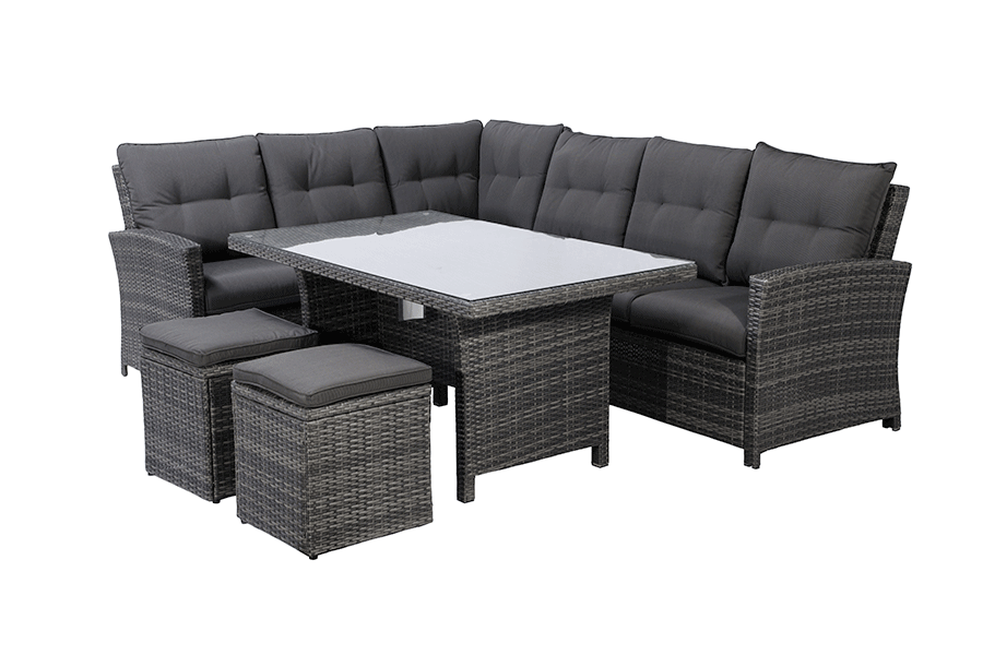 Five Piece Dining Sectional