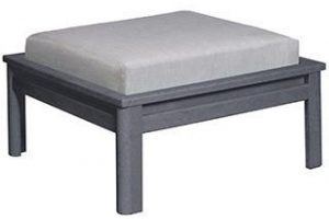 Small Std Ottoman Cushion Sunbrella