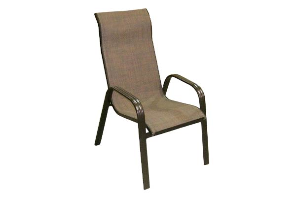 Bronze Sling Dining Chair