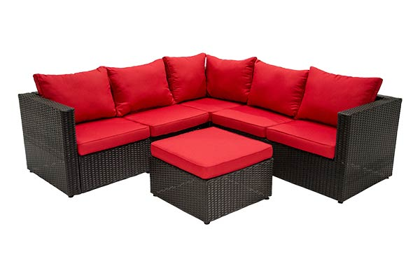 San Paolo Red Sectional