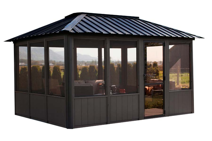 Visscher Okanagan Enclosed Gazebo