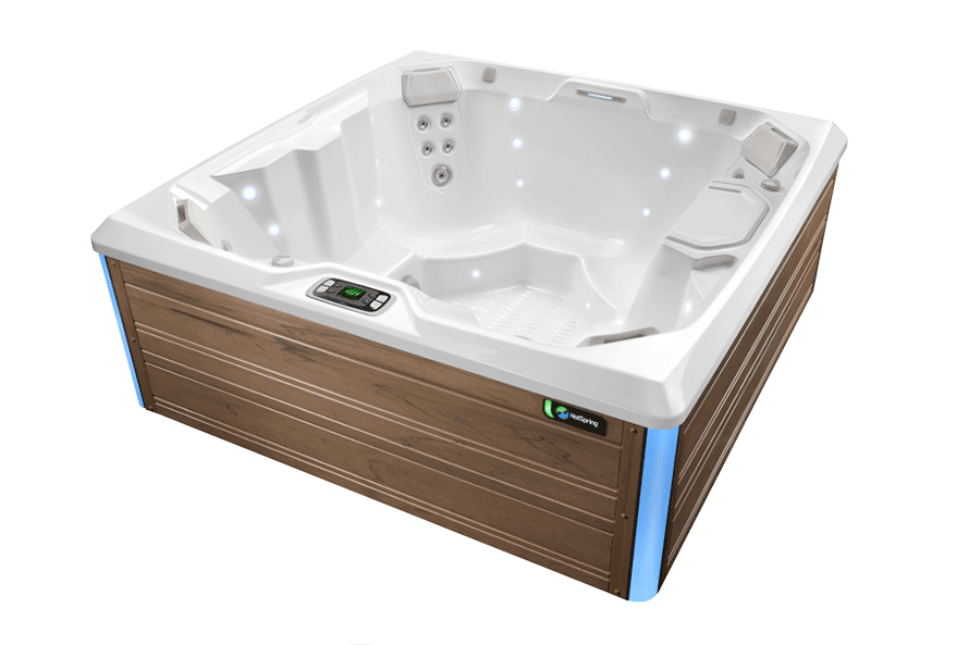Beam Hot Tub- Limelight Collection- Hot Springs- Pioneer Family Pools
