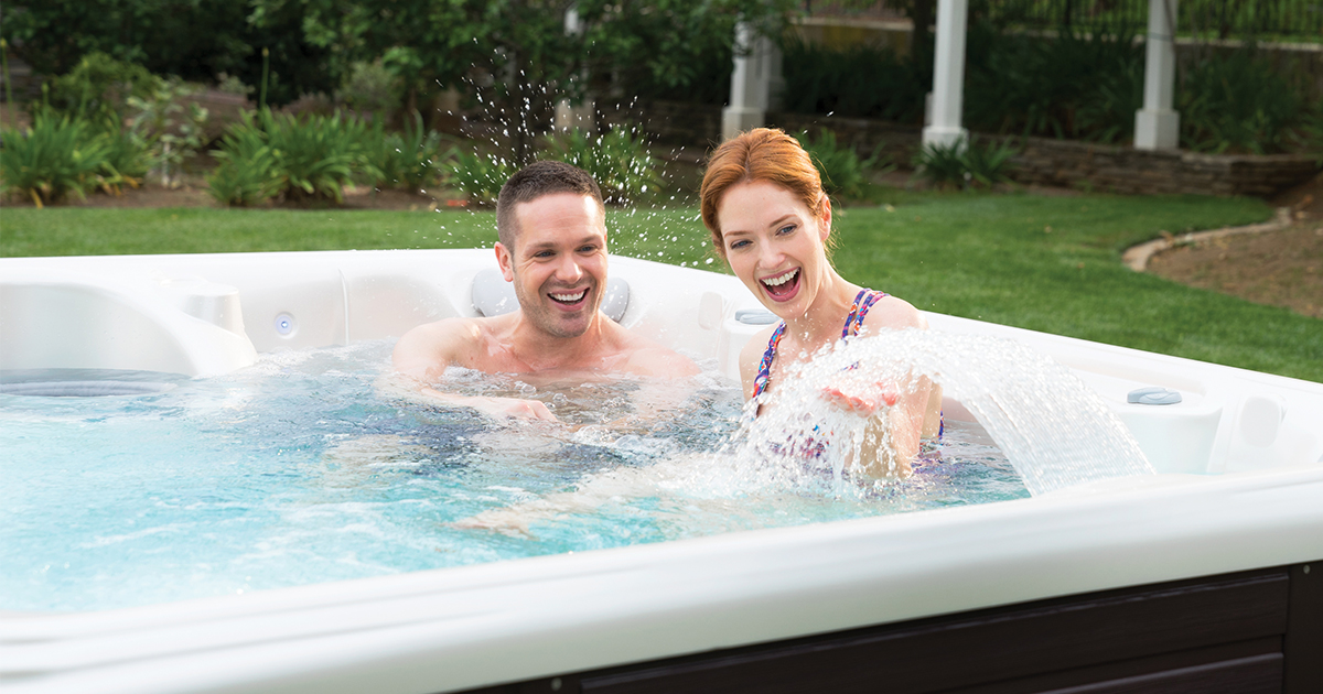 Beam Hot Tub- Limelight Collection- Hot Springs- Pioneer Family Pools - Gallery