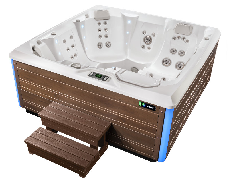 Flair Hot Tub- Limelight Collection- Hot Springs- Pioneer Family Pools - Gallery