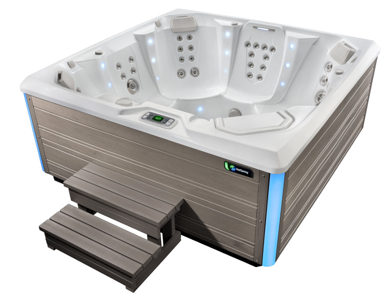 Flash Hot Tub- Limelight Collection- Hot Springs- Pioneer Family Pools - Gallery