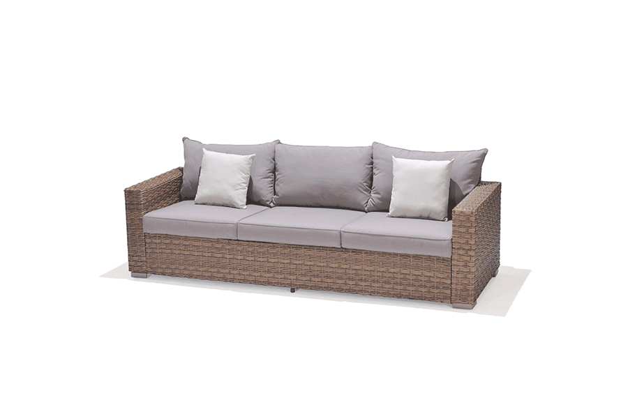 Mykonos Three Seat Sofa