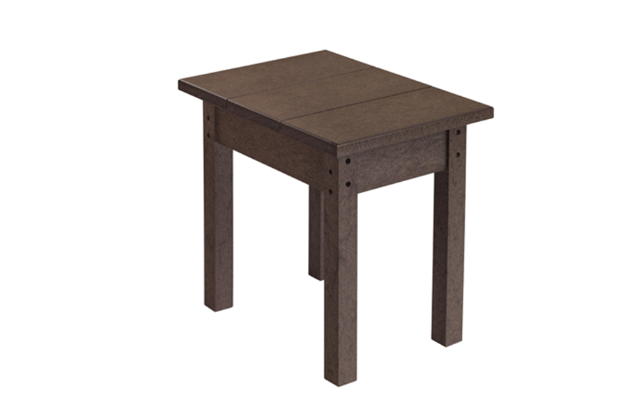 18″ x 13″ Small Side Table Chocolate