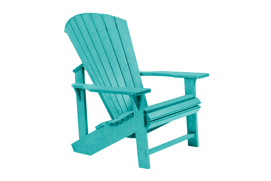 Regular Chair u2013 Turquoise  sc 1 st  Pioneer Family Pools & Adirondack Patio Collection - Pioneer Family Pools
