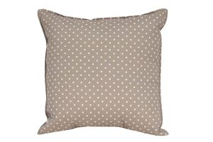 Beige Dots Cushion