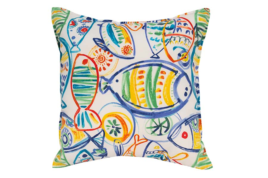 Fish Outdoor Cushion