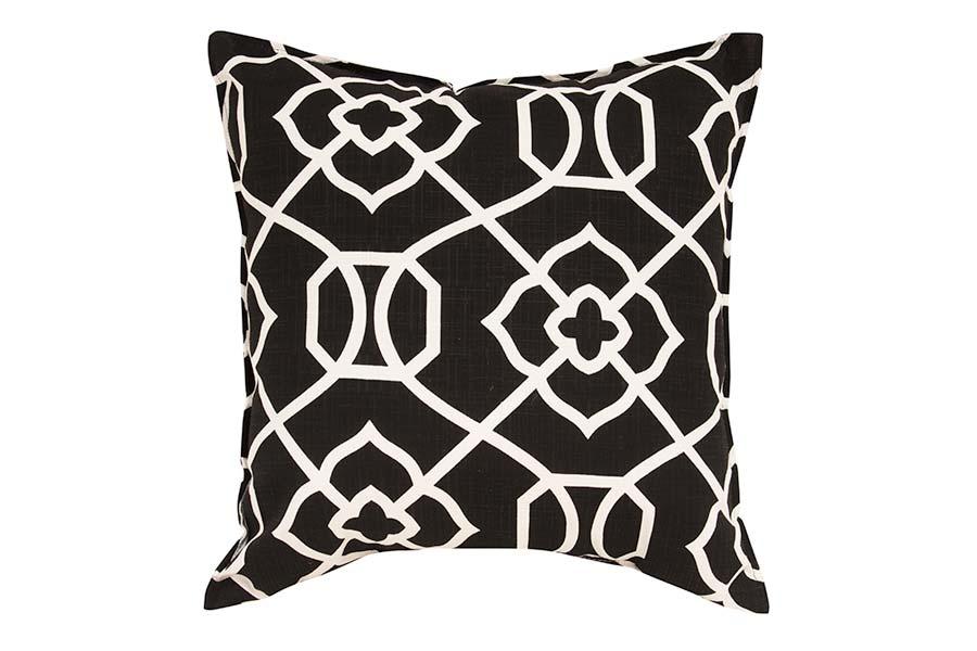 Black & White Design Outdoor Cushion