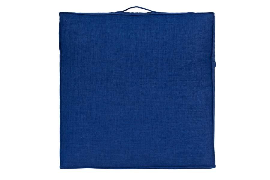 Cobalt Blue Poolside Cushion