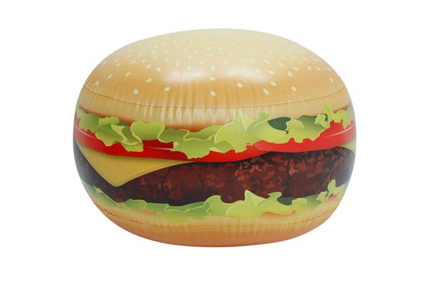 Gigantic Bouncing Burger Ball