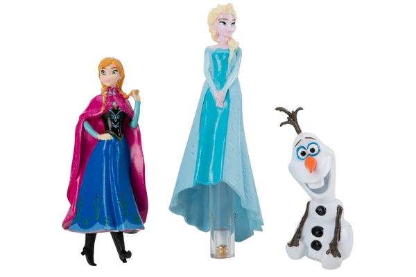 Frozen Dive Characters