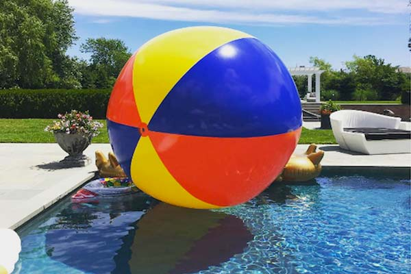 10' Inflatable Giant Beach Ball Pioneer Family Pools