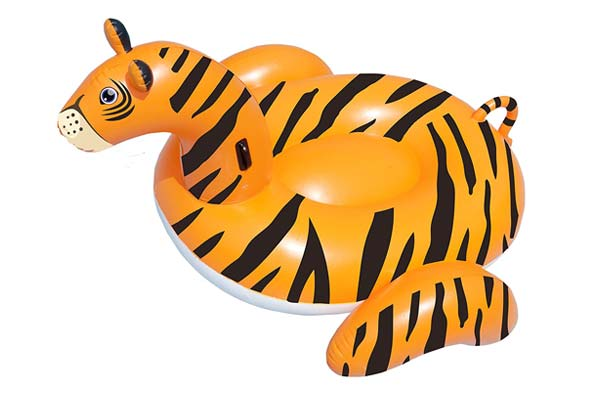 Giant Tiger Ride On by Swimline Pioneer Family Pools
