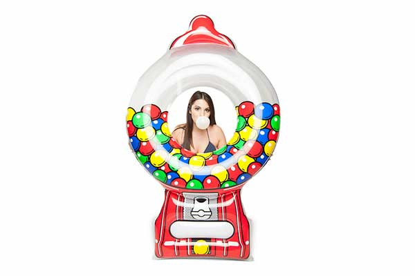 Giant Pool Float - Gumball Machine