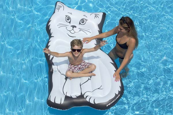 Purrfect Kitty Mattress Pool Float by Swimline