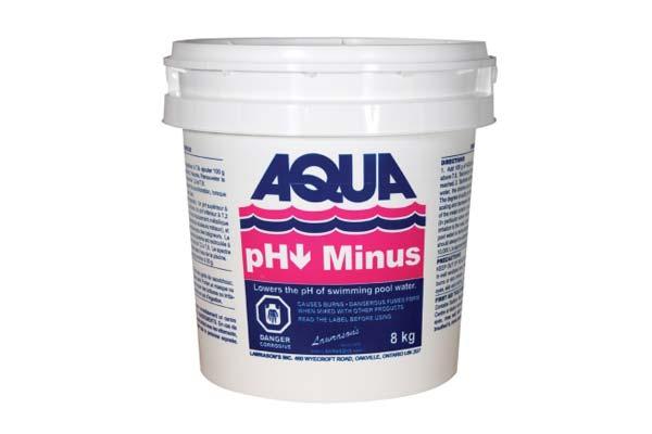 Aqua Ph Minus 8kg